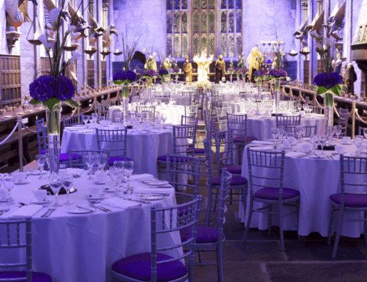 Event in the Great Hall from Harry Potter