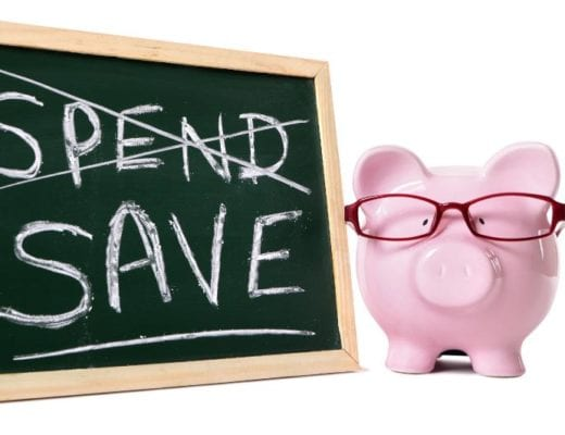 Save don't spend, with piggybank.