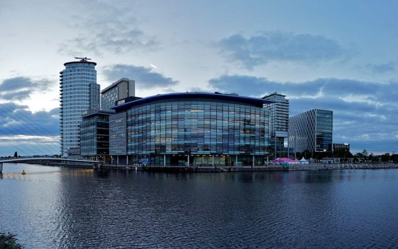 Media City in Manchester