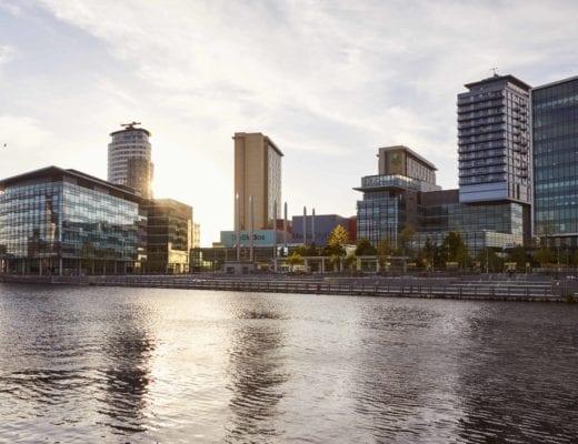 Media City in Manchester