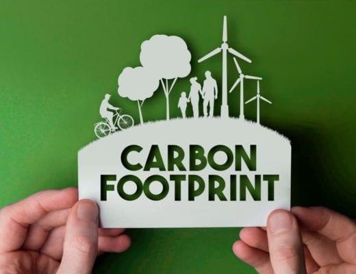 Carbon Footprint sign