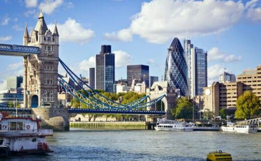 london financial distract view