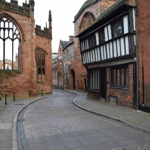 streets of coventry old town