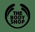 The Body Shop logo.